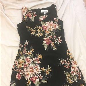 JUST IN 🥳🥳👑 black floral sundress